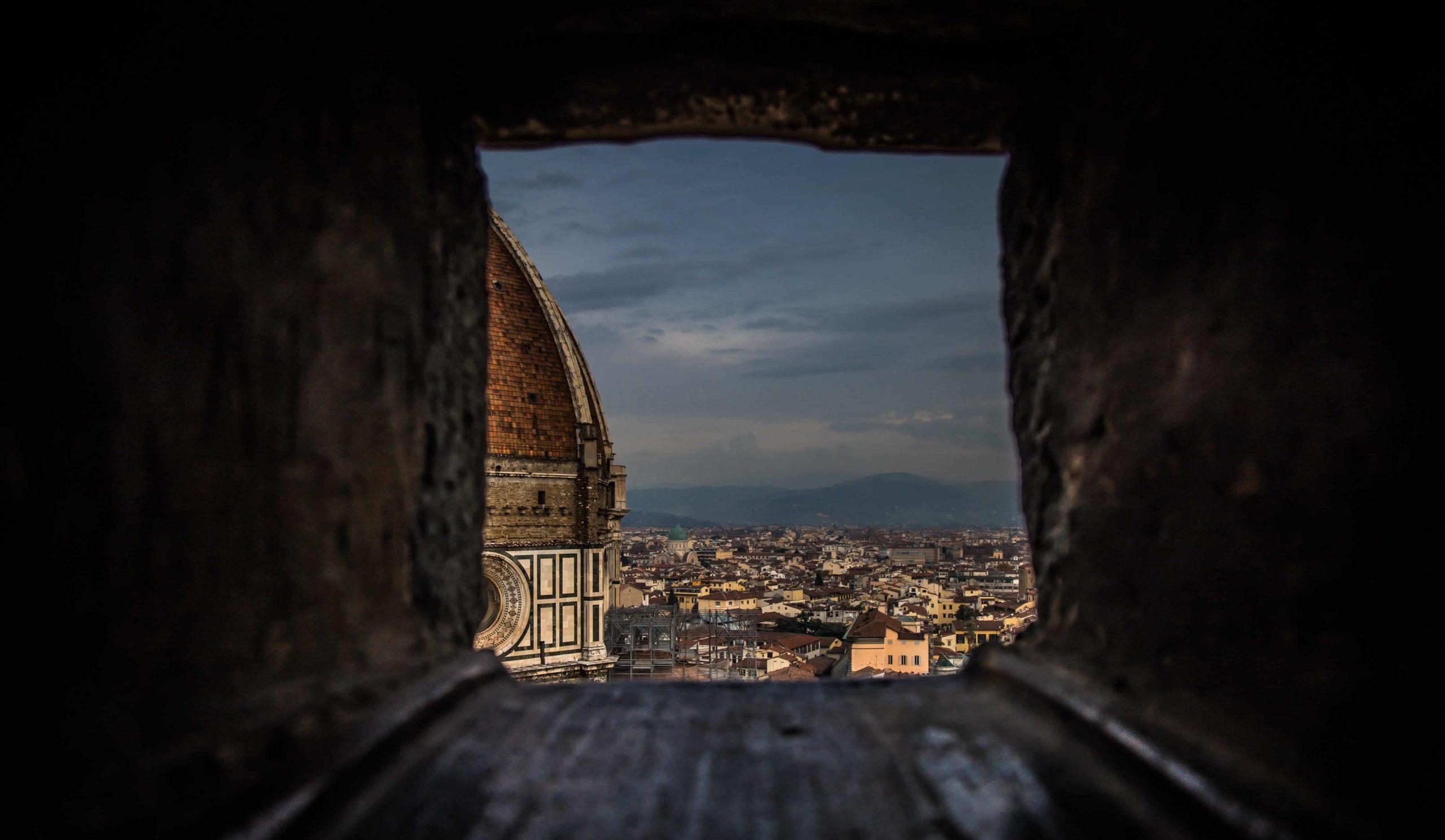 Scorcio del Duomo di Firenze