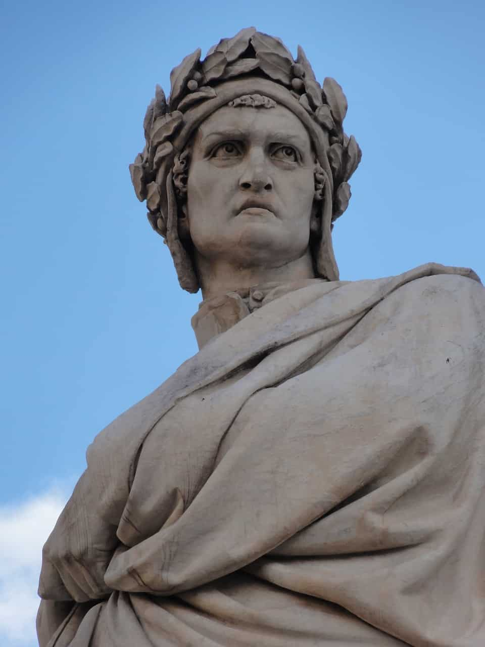Statua di Dante a Firenze