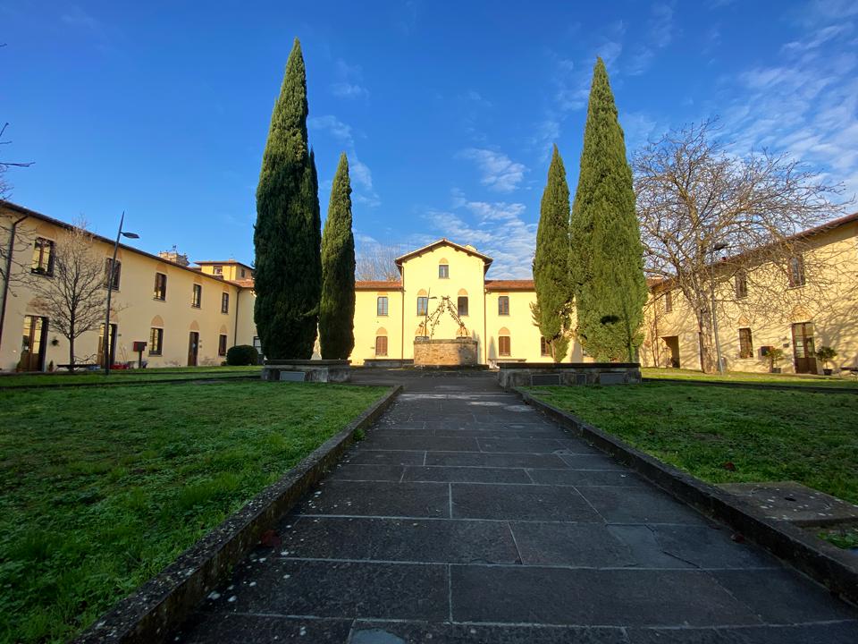 Atrio del Conventino a Firenze