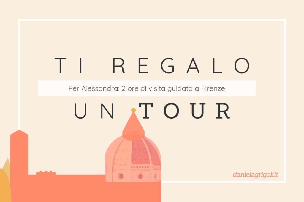 Ti regalo un tour - Gift Card di Daniela Grigoli