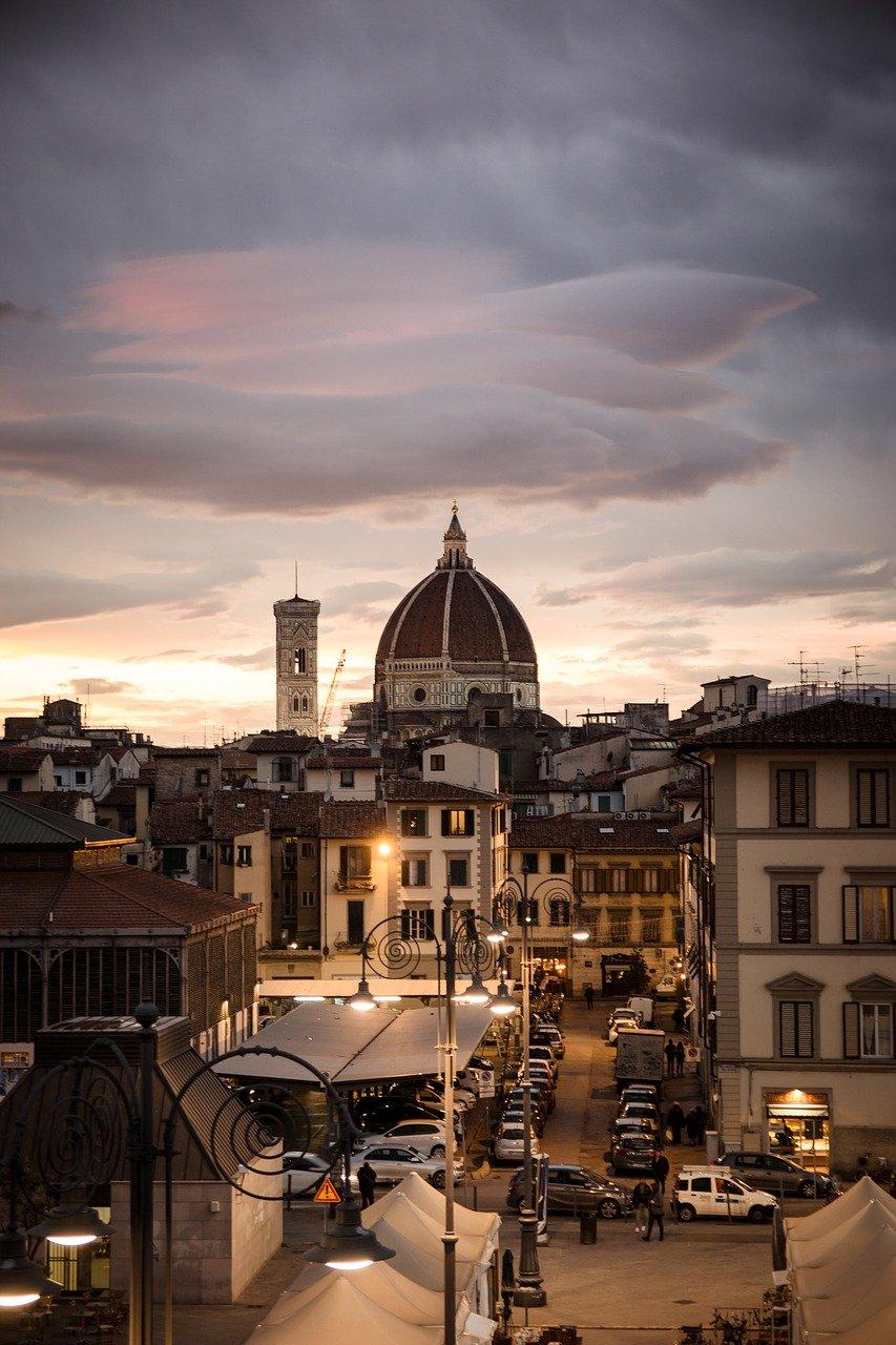 Duomo di Firenze in autunno