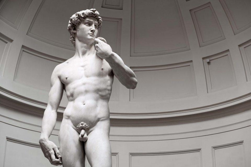 Il David di Michelangelo all'Accademia