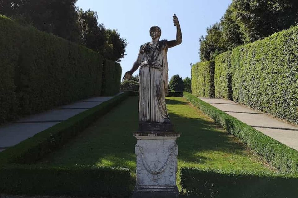 Giardino di Boboli - Palazzo Pitti Firenze